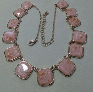 Vintage Blush Pink Necklace